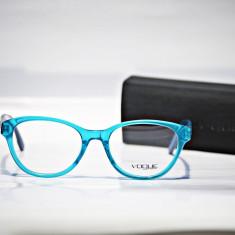 Rame de ochelari de vedere Vogue VO2884 2198 verde pisica, Femei, Colorate, Plastic, Rama intreaga, Designer