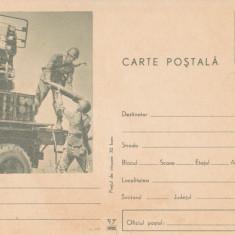 CPR - MILITARA - ARTILERIE - IMAGINE MILITARI LA INSTRUCTIE, Circulata, Printata