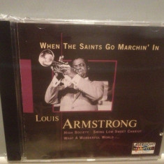 LOUIS ARMSTRONG - WHEN THE SAINTS GO...(1997/MCA/GERMANY) - ORIGINAL/NOU/SIGILAT - Muzica Jazz universal records, CD
