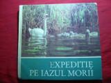 Sandu Singer - Expeditie pe Iazul Morii -Ed 1984 ,cartonat ,ilustrat color