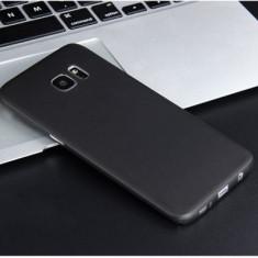 Husa Samsung Galaxy S7 Edge Ultra Slim 0.3mm Mata Black - Husa Telefon Samsung, Negru, Plastic, Fara snur, Carcasa