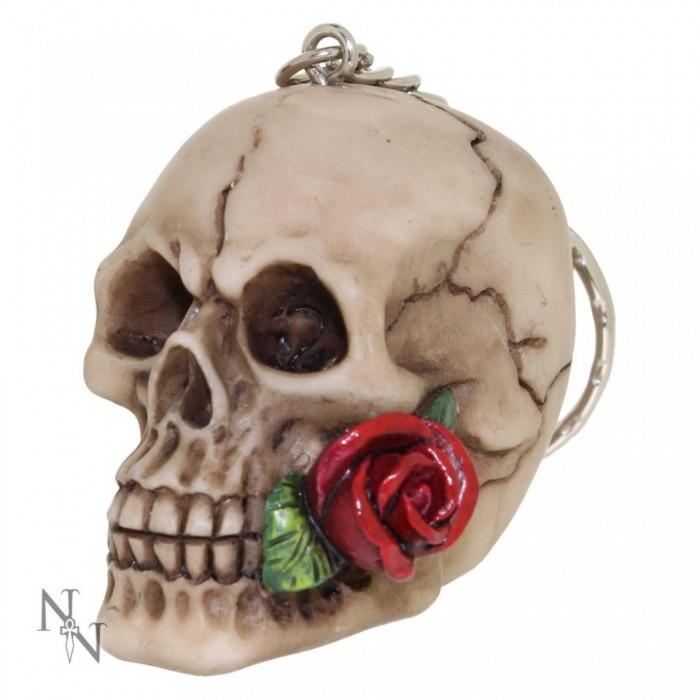 Breloc Un trandafir de dincolo de moarte foto mare