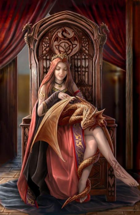 Felicitare mica zana ?i dragon Prieteni eterni foto mare