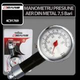 Manometru presiune aer din metal 7,5 Bar 4Cars - CRD-4C91769