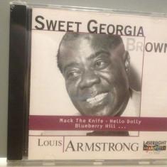 LOUIS ARMSTRONG - SWEET GEORGIA .... (1997/DELTA/GERMANY) - ORIGINAL/NOU/SIGILAT - Muzica Jazz universal records, CD