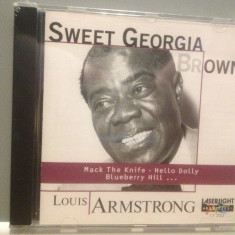 LOUIS ARMSTRONG - SWEET GEORGIA .... (1997/DELTA/GERMANY) - ORIGINAL/NOU/SIGILAT - Muzica Jazz universal records, CD