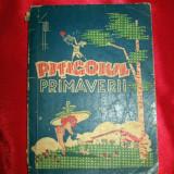 PITIGOIUL PRIMAVERII, anul 1947, almanah, vechi, coperta de GOPO - Carte veche