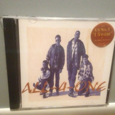 ALL-4-ONE (1994/ ATLANTIC REC /GERMANY) - ORIGINAL/NOU/SIGILAT - Muzica R&B warner, CD