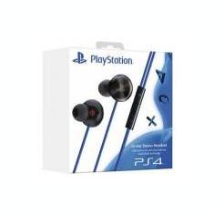 Casti Gaming In-Ear Sony Ps4, Casti In Ear, Cu fir, Mufa 3, 5mm, Active Noise Cancelling