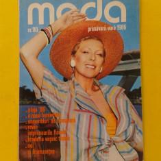 Revista MODA Nr 110 1986 - Carte design vestimentar