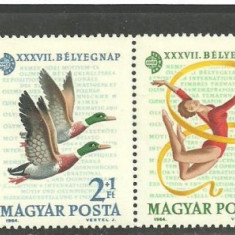 Ungaria 1964 - FAUNA, FLORA, SPORT, COSMOS, serie MNH N27 - Timbre straine, Nestampilat