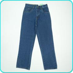 NOI _ Pantaloni / blugi, denim de calitate, X-MAIL _ baieti | 12 - 13 ani | 158, Marime: Alta, Culoare: Albastru