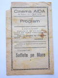 BRPG - PROGRAM CINEMA - ANII 30 - CINEMATOGRAFUL AIDA