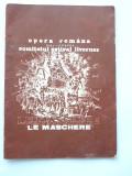 BRPG - PROGRAM OPERA - ANII 80 - OPERA ROMNA - CLUJ NAPOCA