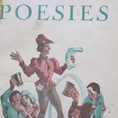 Poesies - Francois Villon - Carte in franceza