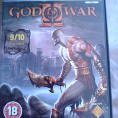 Vand Jocuri PS2 Thq, GOD OF WAR 2, ca nou, playstation 2, PAL, engleza, Strategie, 18+, Single player