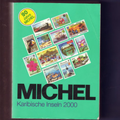 KATALOG TIMBRE MICHEL INS. KARAIBE 2000