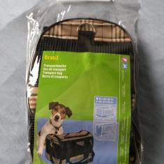 Geanta transport caine/pisica KERBL - Geanta si cusca transport animal