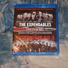 Film - The Expendables Two Film Set [2 Blu-Ray Discs], Release UK Original - Film actiune lionsgate, Engleza