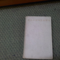M.SADOVEANU - ROMANE SI POVESTIRI ISTORICE Vol.1.., editie pe foita