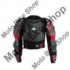MBS ACERBIS PROTEKTORENJACKE SCUDO CE 2.0, schwarz/grau/rot, S/M, LE2016, Cod Produs: 17171063AU - Armura moto