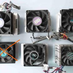 Cooler Intel socket 478 - clipsuri metalice - Cooler PC, Pentru procesoare