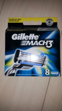 123123Rezerve Gillette Mach 3 set 8 Buc