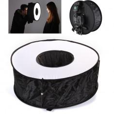 Softbox circular cu diametul de 45cm, pentru Flash blitz extern - Echipament Foto Studio