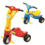 Tricicleta 2 in 1, MINI (Cod 8591) - Tricicleta copii, Unisex