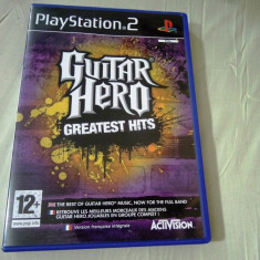 Joc Guitar Hero Greatest Hits, PS2, original, alte sute de jocuri! - Jocuri PS2 Activision, Simulatoare, 12+, Single player