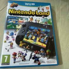 Joc Nintendo Land, Wiiu, original, alte sute de jocuri!, Actiune, 3+, Single player