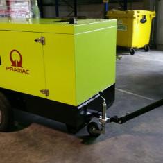 Generator PRAMAC 45 KVA cu remorca tip santier