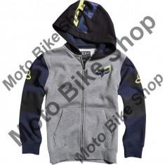 MBS Fox Kinder Zip Hoody Trick Master, Heather Graphite, Km, P:16/039, Cod Produs: 14925185MAU