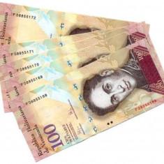 Venezuela 10o bolivares 2015 - UNC
