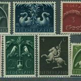 1943-44 Olanda - serie nestampilata MH
