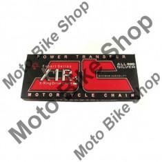 MBS Lant transmisie JT 520X1R2 (nichel/nichel) Heavy Duty X-Ring, L96, deschis/cheita sigur..., Cod Produs: JTC520X1R2NN096DL - Lant transmisie Moto