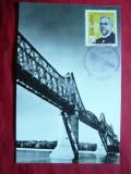 Maxima veche - Personalitati -A.Saligny - Podul peste Dunare 1963