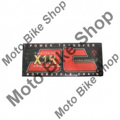 MBS Lant transmisie JT 520X1R2 (negru) Heavy Duty X-Ring, L90, deschis/cheita cu siguranta/..., Cod Produs: JTC520X1R2090DL - Lant transmisie Moto