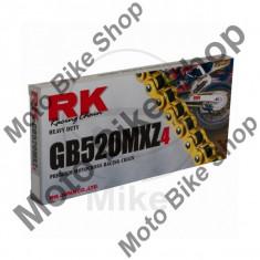 MBS Lant transmisie RK GB520MXZ4/114, deschis/cheita siguranta, Cod Produs: 7250368MA - Lant transmisie Moto