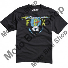 MBS Fox Kinder T-Shirt Bolt Bender, Black, Kxl, P:16/040, Cod Produs: 14820001XLAU