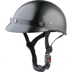 Casca semiintegrala Braincap, marime M, culoare negru/argintiu PP Cod Produs: 20330403LO - Casca moto