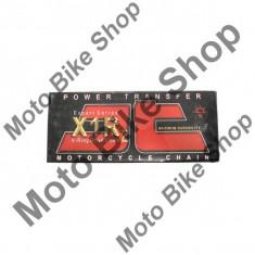 MBS Lant transmisie JT 520X1R2 (auriu/negru) Heavy Duty X-Ring, L108, deschis/cheita sigura..., Cod Produs: JTC520X1R2GB108DL - Lant transmisie Moto