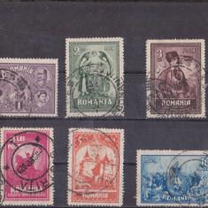 TRNS - 10 ANI DE LA UNIREA TRANSILVANIEI - AN 1929 - Timbre Romania, Stampilat