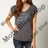 MBS Fox Girl T-Shirt Extent V-Neck, Black, Dm, P:16/193, Cod Produs: 14637001MAU