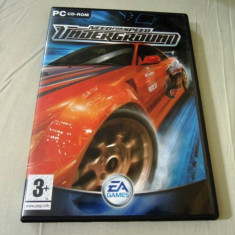 Joc Need For Speed Underground, PC, original, alte sute de jocuri! - Jocuri PC Electronic Arts, Curse auto moto, 12+, Single player