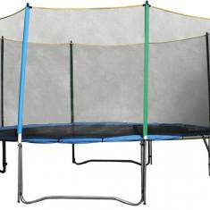 Plasa siguranta inSPORTline 457 cm + 10 stalpi - Trambulina copii