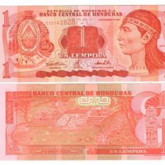 SV * Honduras UN LEMPIRA 2000 UNC