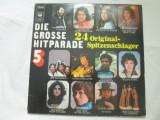 Various – Die Grosse Hitparade   _ dublu Vinyl,2 x LP,compilatie Olanda anii'70, VINIL