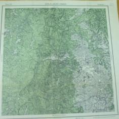 Soveja Vrancea Muntii Vrancei Moldova 1917 serviciul geografic al armatei harta - Harta Romaniei