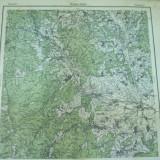 Targu Ocna Bacau Moldova 1916 harta militara color